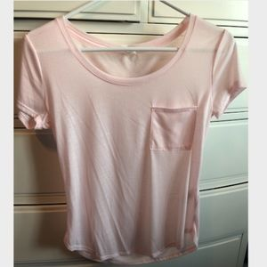 Light Pink Basic Top